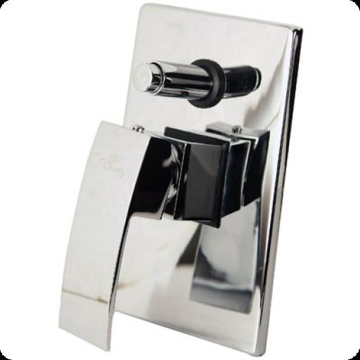 Mezcladora monomando para regadera y tina nix o310 for Llave mezcladora para tina y regadera