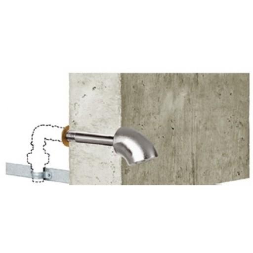 """Ducha Pasante 100-200 mm de Alta Seguridad """"00379506"""""""