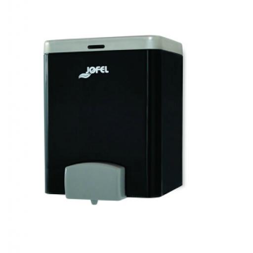 Dispensador de jabón rellenable de 2 lts. Color humo. TOTAL VISION - AC22000