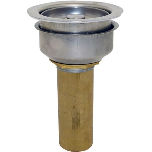 Contra canasta con tubo de acero inoxidable  - 13-AC