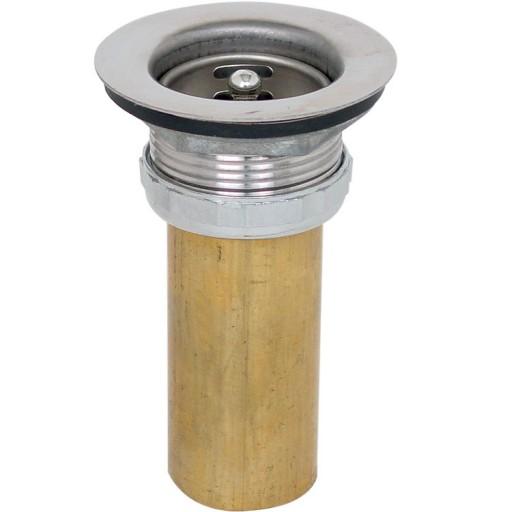 Contra de acero inoxidable y tubo de latón - 12-IL