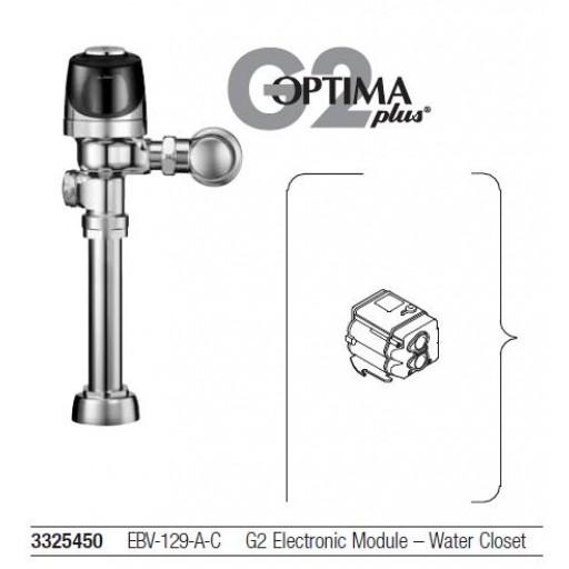 Modulo electrónico G2 para fluxómetro de baño, EBV-129-AC