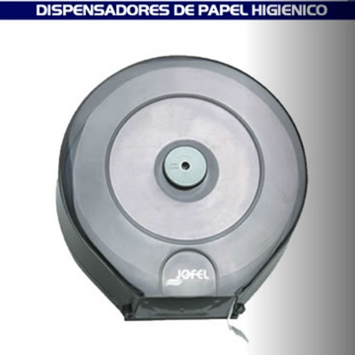 "Dispensador de papel higiénico para baño transparente - ""PH51310"""