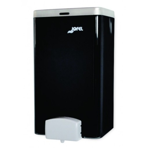 Dispensador de jabón rellenable, color humo. TOTAL VISION - DJ21010