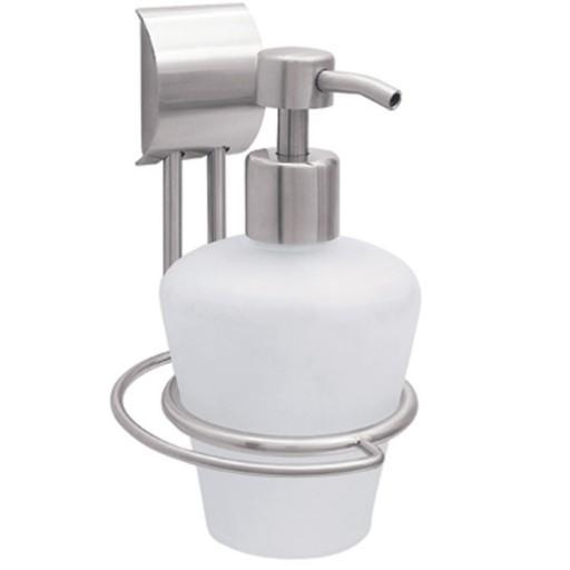 Dosificador de cristal para jabón líquido INOX - 9902