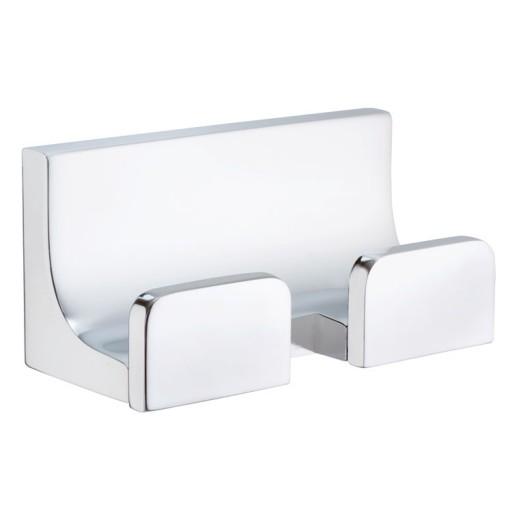 Gancho doble para baño RIO - RI.06D