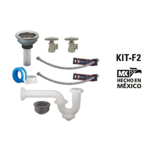 Kit de instalación para mezcladora de fregadero - KIT-F2