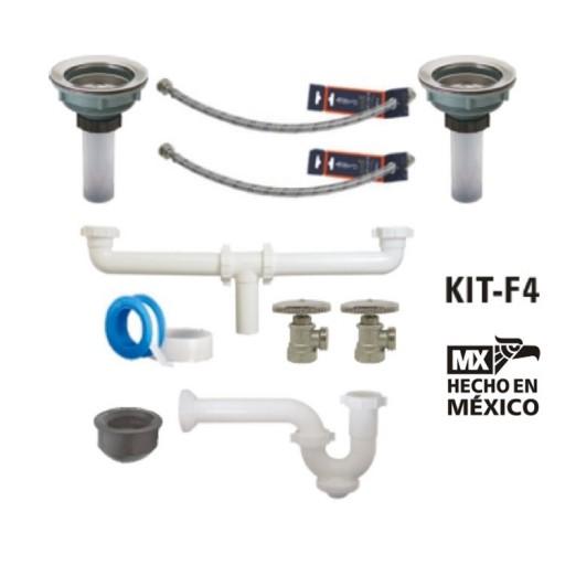 Kit de instalación para mezcladora de fregadero - KIT-F4