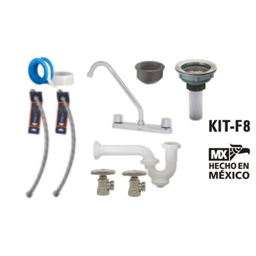 Kit de instalación para mezcladora de fregadero - KIT-F8