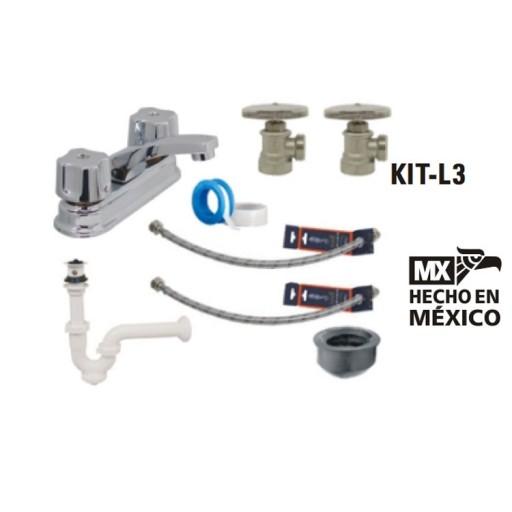 Kit para baño Rugo - KIT-L3