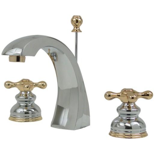 Mezcladora Lisboa de lavabo con desagüe automático - 19-LC