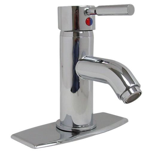 Mezcladora monomando con cubierta para lavabo sin desagüe - 23-MM