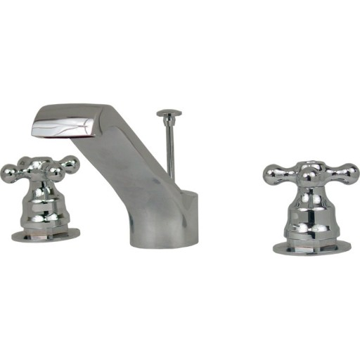 """Mezcladora para lavabo de 8"""" a 12"""" con cartucho sin desagüe - 19-FCS"""