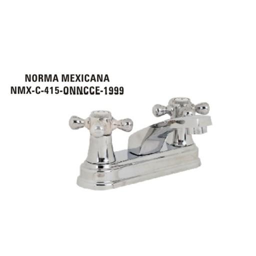 Mezcladora para lavabo, cuerpo de bronce, cartucho cerámico - 21013