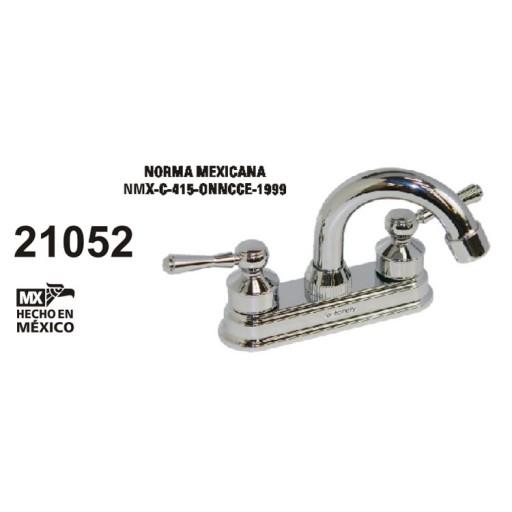 Mezcladora para lavabo, cuerpo de bronce, cartucho cerámico - 21052