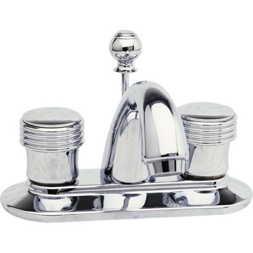 """Mezcladora Viena lavabo 4"""" con cartucho cerámico y desagüe automático - 23-TC"""