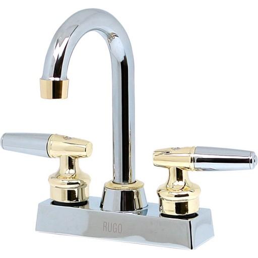 """Mezcladora Messina lavabo 4"""" con cartucho cerámico - 24-LC"""