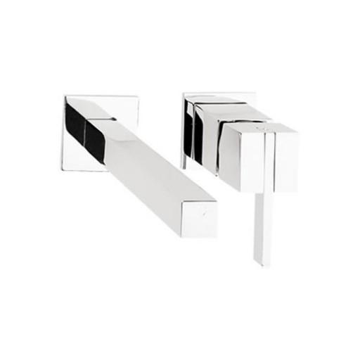 Monomando Kúbica de pared con desagüe - E-3005-Conf