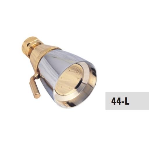 Regadera de latón de chorro regulable - 44-L