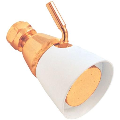 Regadera de latón de chorro regulable - 44-LB
