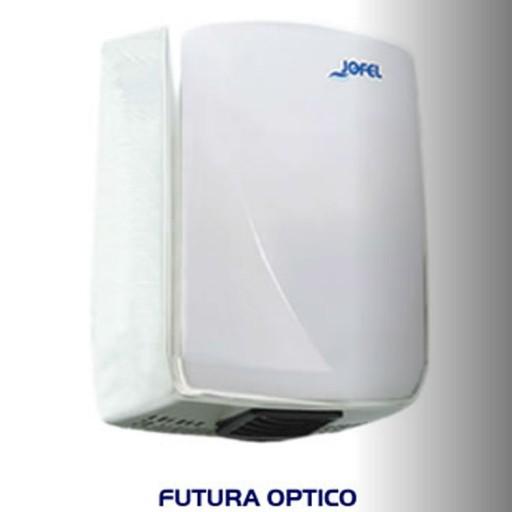 Secador de manos de policarbonato con cubierta blanca  - AA14126