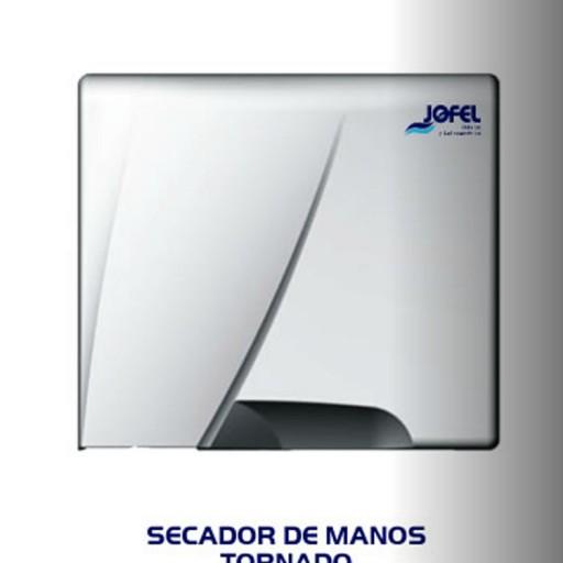 Secador de manos color blanco de plástico - AA84126