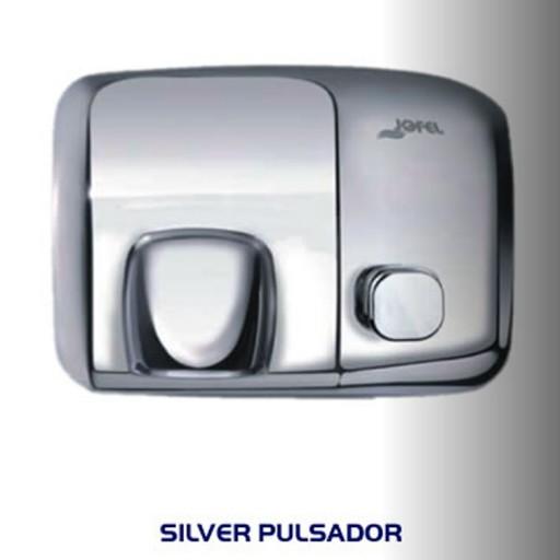 Secador de manos de acero y aluminio cubierta inoxidable - AA91126