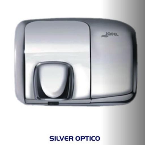 Secador de manos de acero y aluminio cubierta inoxidable - AA92126
