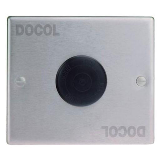 Valvula de piso PeMatic,acabado cromo para lavabo - mingitorio - 17012100