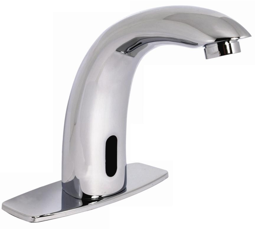 Llave individual electr nica con sensor para lavabo 16 se for Llaves modernas para lavamanos