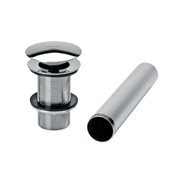 Contra para desag e con sistema push para lavabo sin for Accesorios lavabo