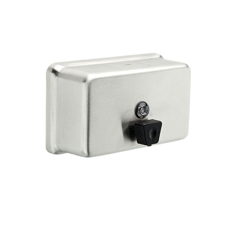 Dispensador de jab n l quido horizontal 44081 for Dispensador de jabon de pared