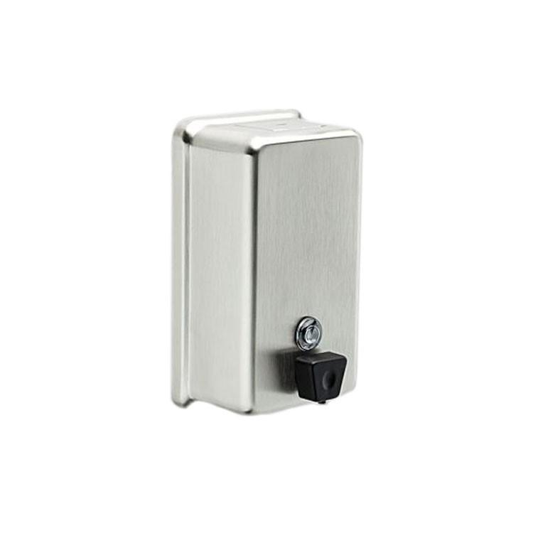 Dispensador de jab n l quido vertical 44080 ss - Dispensador jabon pared ...