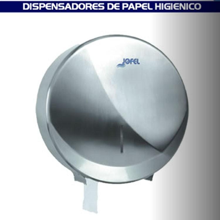 Dispensador de papel higi nico para ba o satinado ae25000 - Papel de vinilo para banos ...