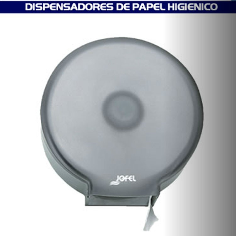 Dispensador maxi de papel higi nico para ba o transparente for Papel decomural para banos