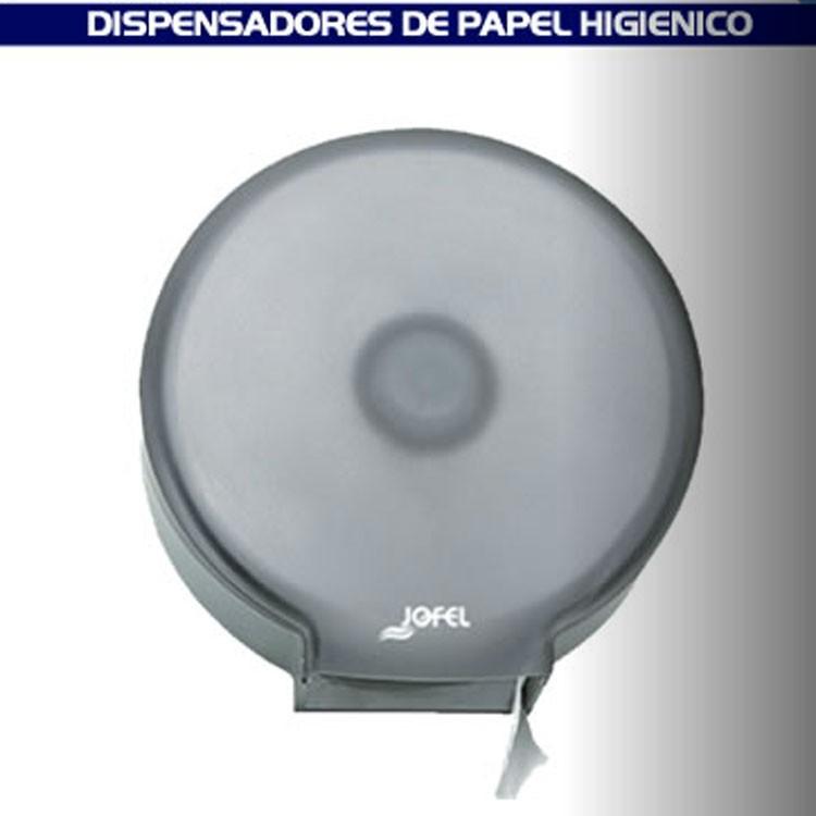 Dispensador de papel higi nico para ba o transparente for Dispensadores para banos