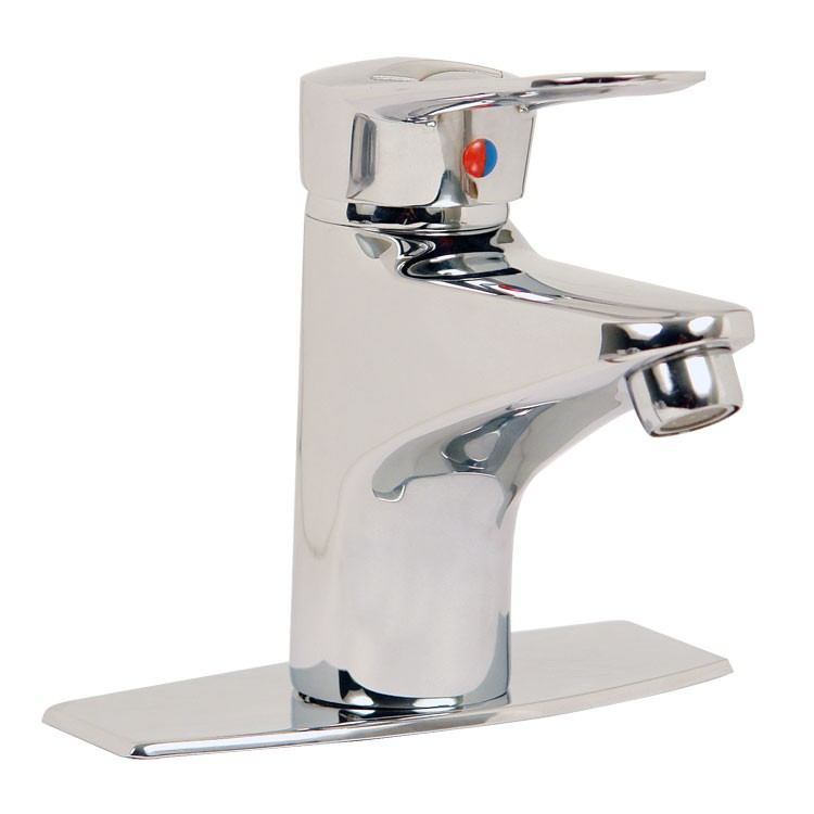 Llave monomando para lavabo con desag e autom tico 20 mc for Embolo para llave de bano