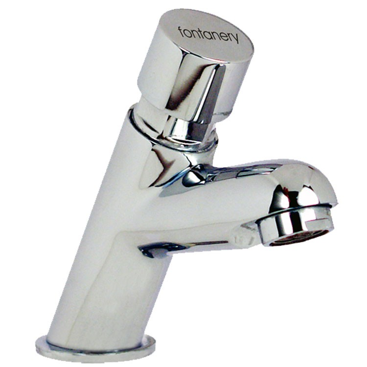 Llave temporizadora para lavabo 20001 fontanery for Llaves modernas para lavamanos