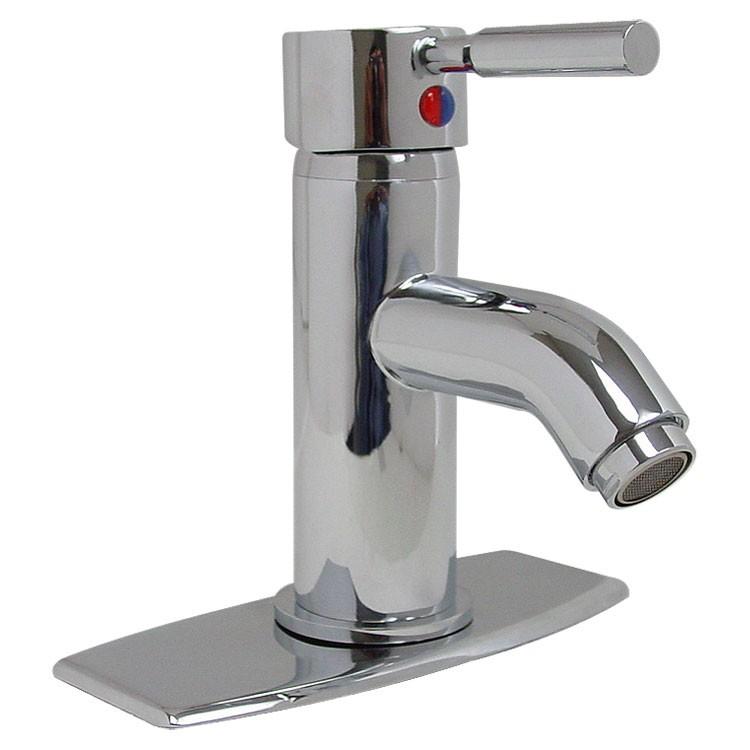 Mezcladora monomando con cubierta para lavabo sin desag e for Marcas de llaves para bano
