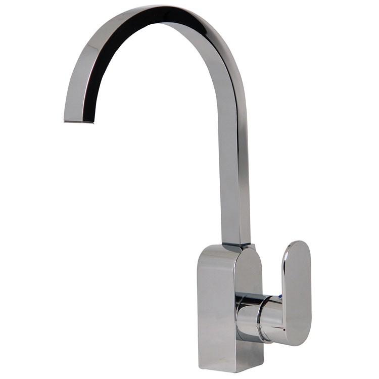 Mezcladora monomando para fregadero l nea zafiro z200 for Llave mezcladora para lavabo