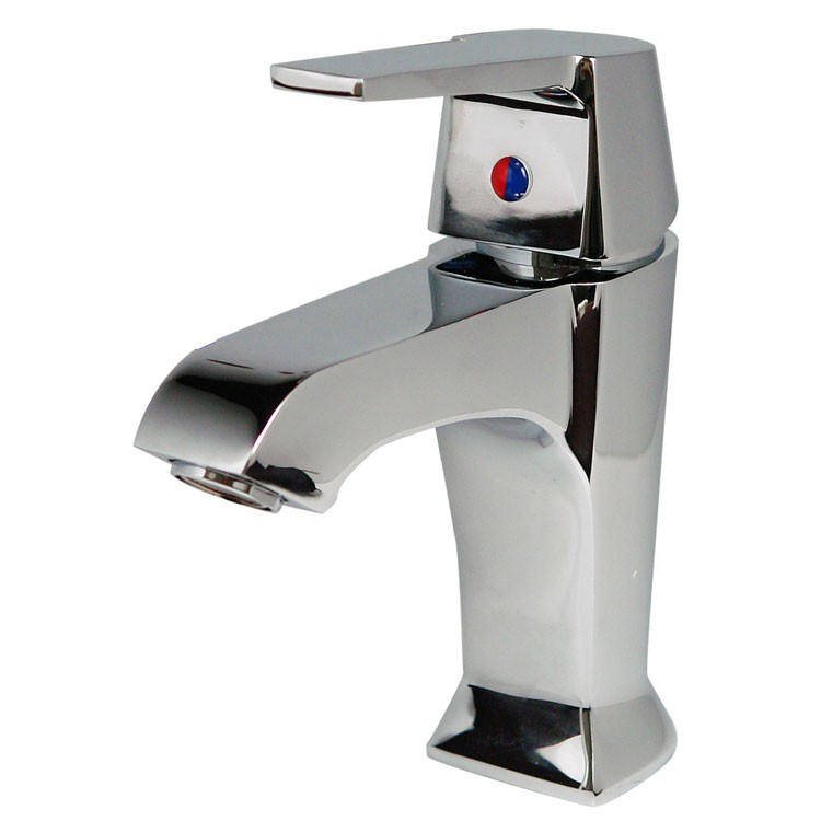 Mezcladora monomando corta para lavabo l nea rub r100 for Mezcladora para lavabo
