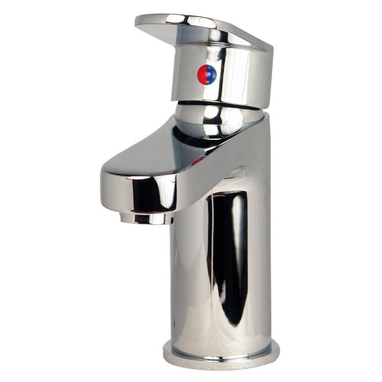 Mezcladora monomando corta para lavabo l nea zafiro z100 for Llaves mezcladoras para lavabo urrea