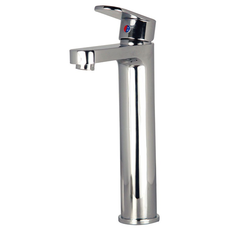 Mezcladora monomando alta para lavabo l nea zafiro z110 for Llaves mezcladoras para lavabo urrea