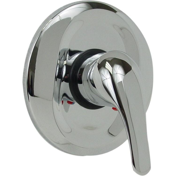 Mezcladora para empotrar monomando de regadera o tina 37 mm for Mezcladora para regadera urrea
