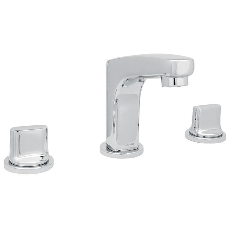 Mezcladora para lavamanos con desag e autom tico 9283ar for Llaves de lavamanos