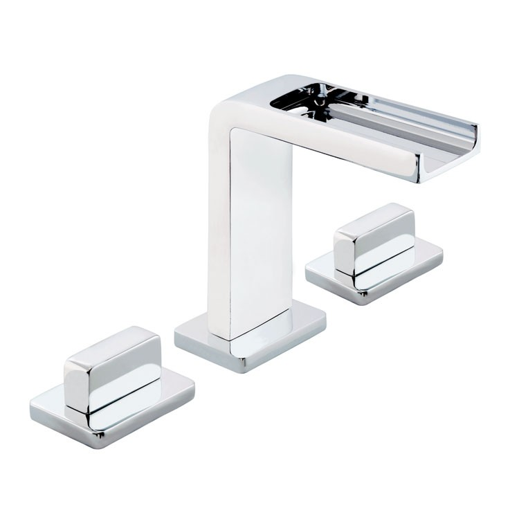 Mezcladora para lavamanos con desag e autom tico 9293ri for Llaves modernas para lavamanos