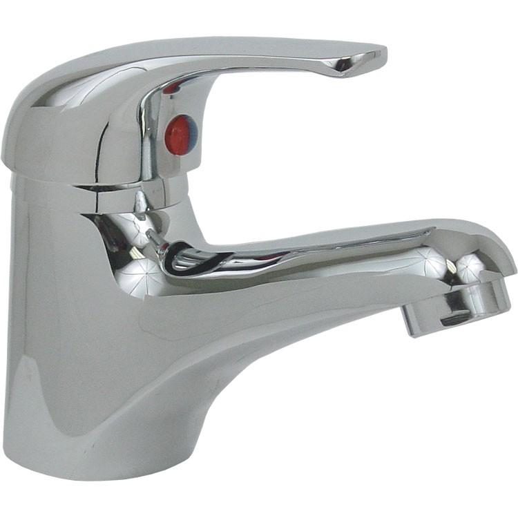 Monomando para lavabo sin cubierta de lat n cromo 24 mcs for Embolo para llave de bano