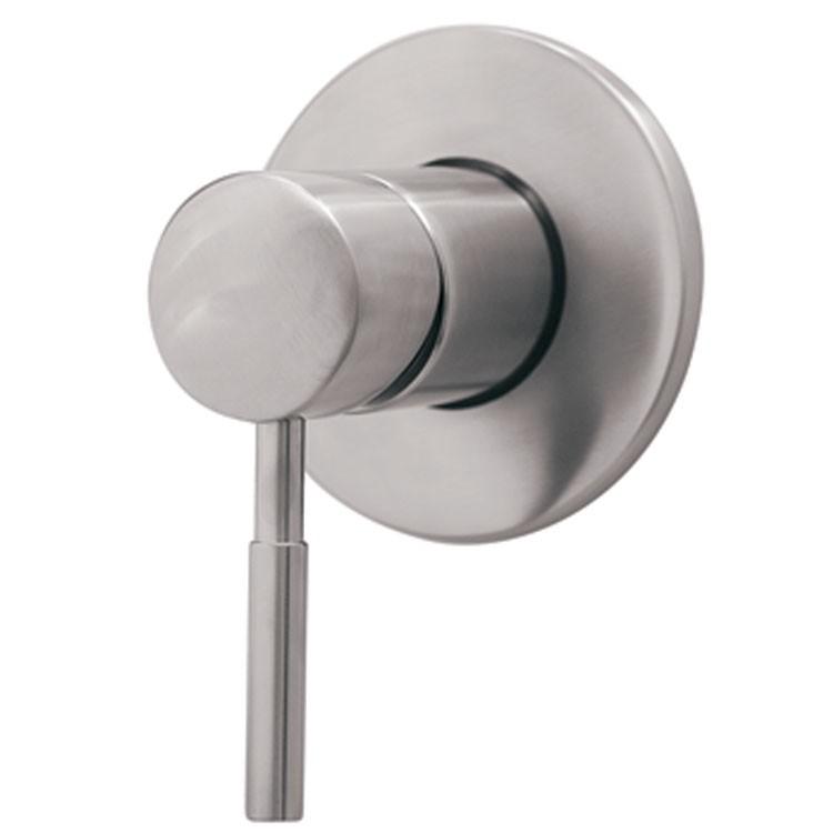 Monomando para regadera o tina de empotrar 9451inox for Arbol para llave de regadera urrea