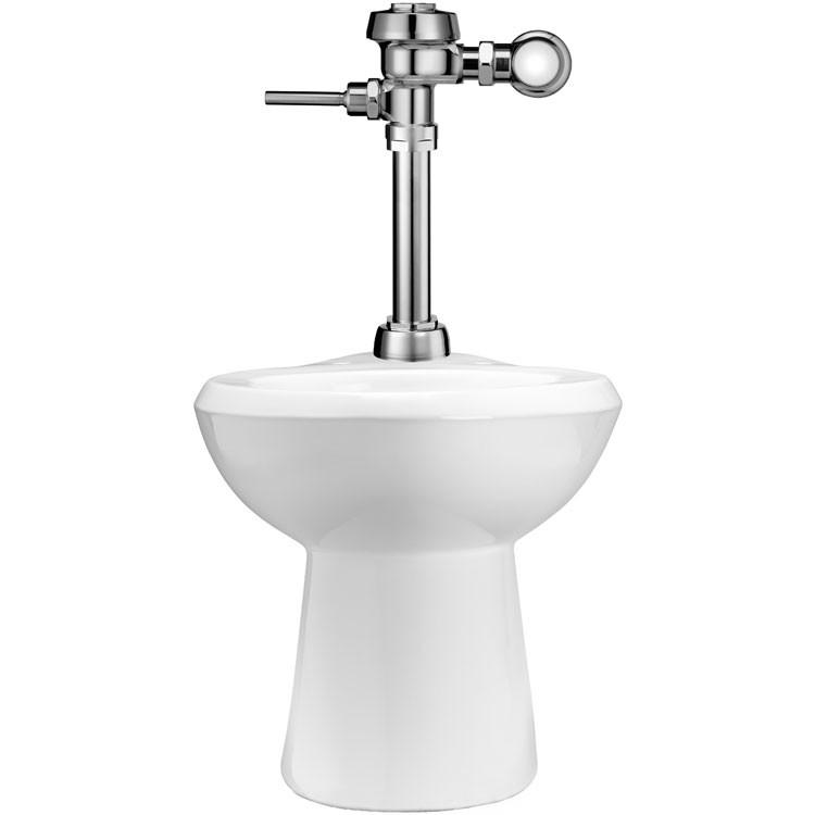 Sanitario de piso con altura ada flux metro manual wets for Marcas de wc