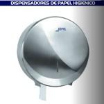 Dispensador de papel higiénico para baño satinado - AE25000
